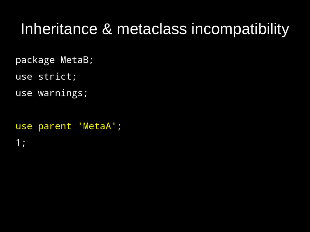 Inheritance & metaclass incompatibility package...