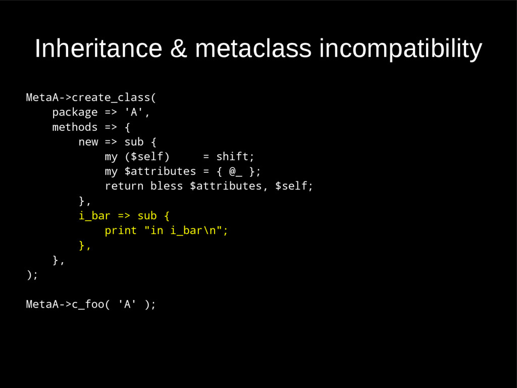 Inheritance & metaclass incompatibility MetaA->...