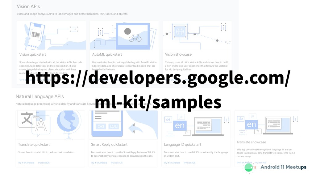 https://developers.google.com/ ml-kit/samples