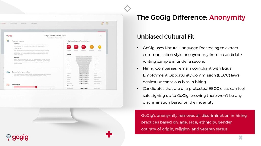 Unbiased Cultural Fit • GoGig uses Natural Lang...