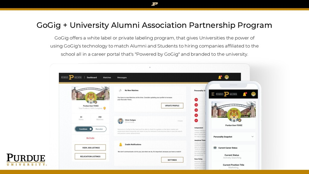 GoGig + University Alumni Association Partnersh...