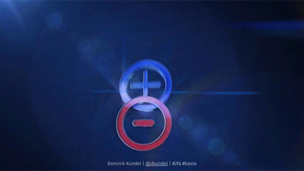 Dominik Kundel | @dkundel | #2fa #basta
