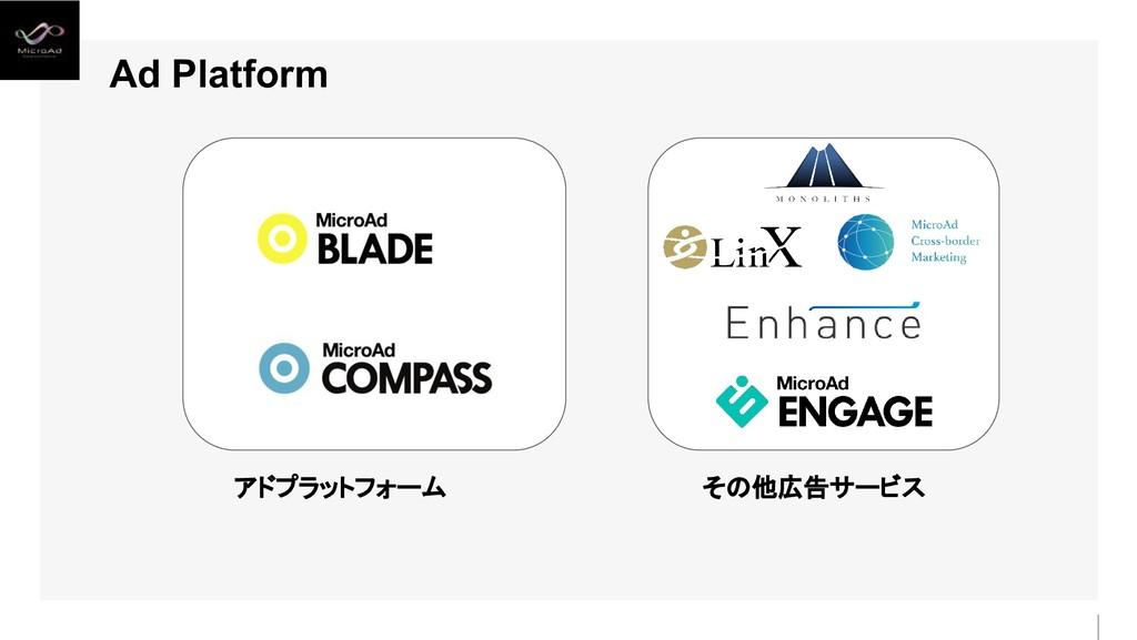 アドプラットフォーム その他広告サービス Ad Platform