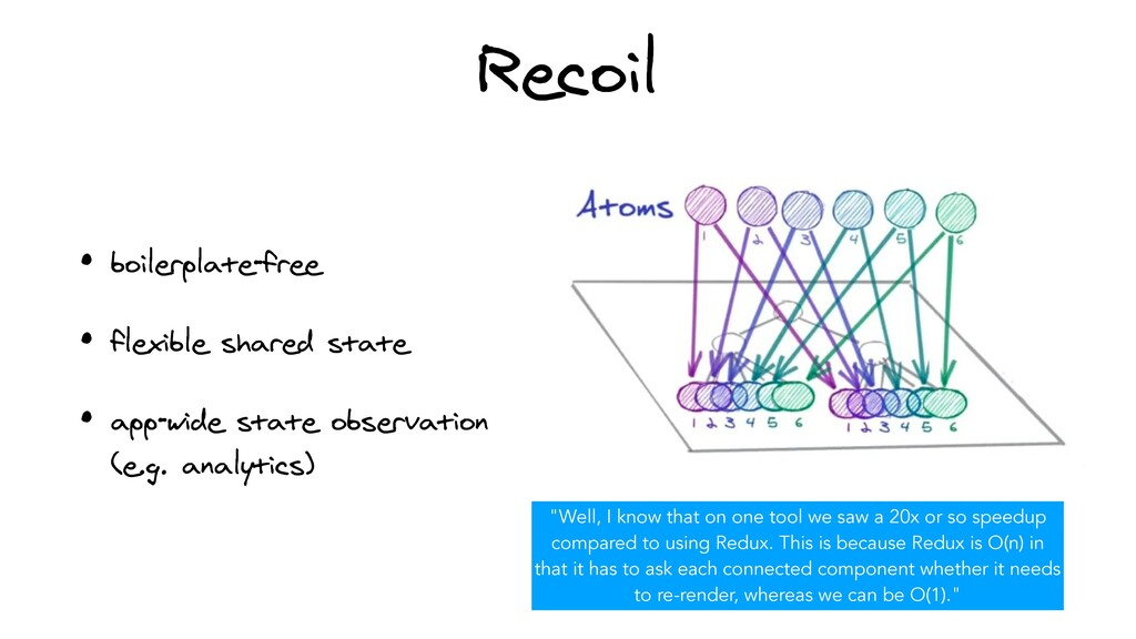 Recoil • boilerplate-free   • flexible shared s...