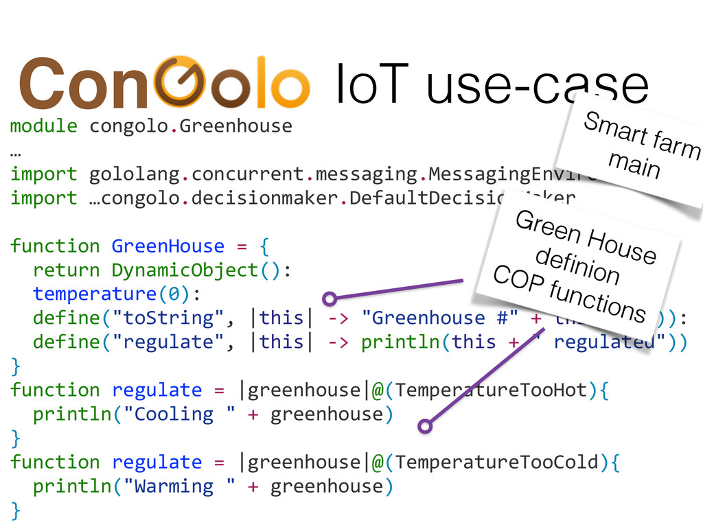 module congolo.Greenhouse  …  import...
