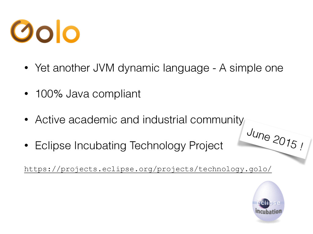 • Yet another JVM dynamic language - A simple o...
