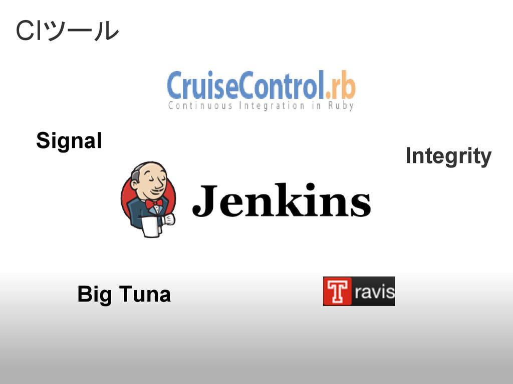 CIツール Signal Integrity Big Tuna