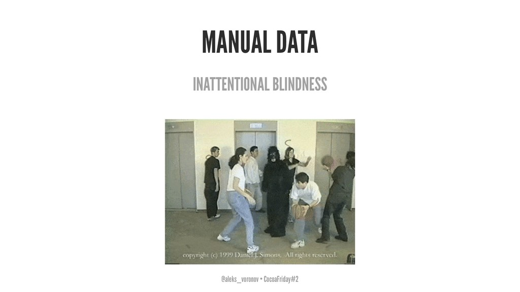 MANUAL DATA INATTENTIONAL BLINDNESS @aleks_voro...