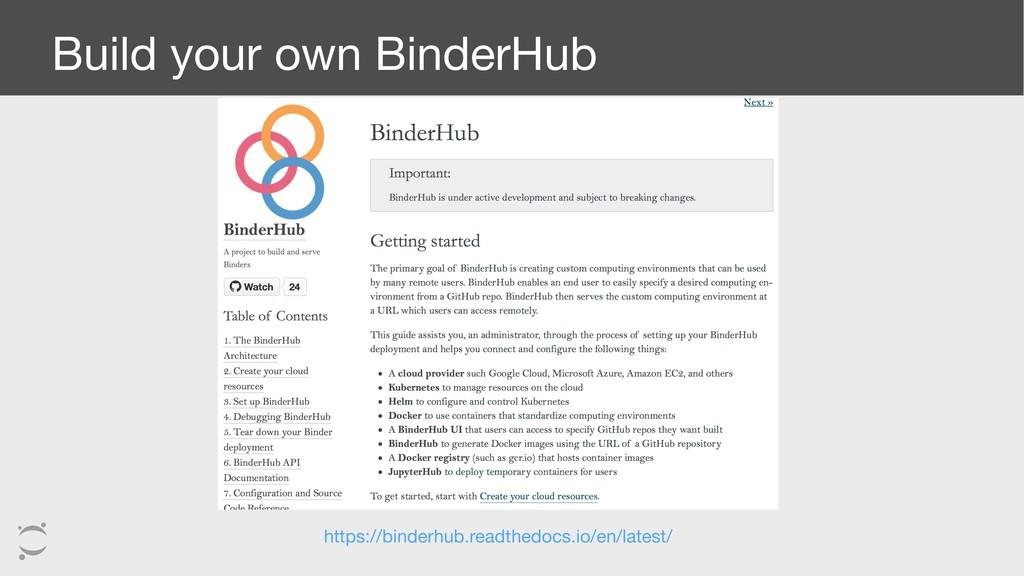 Build your own BinderHub https://binderhub.read...