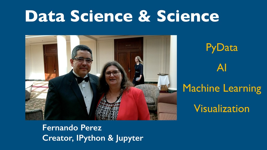 Data Science & Science PyData AI Machine Learni...
