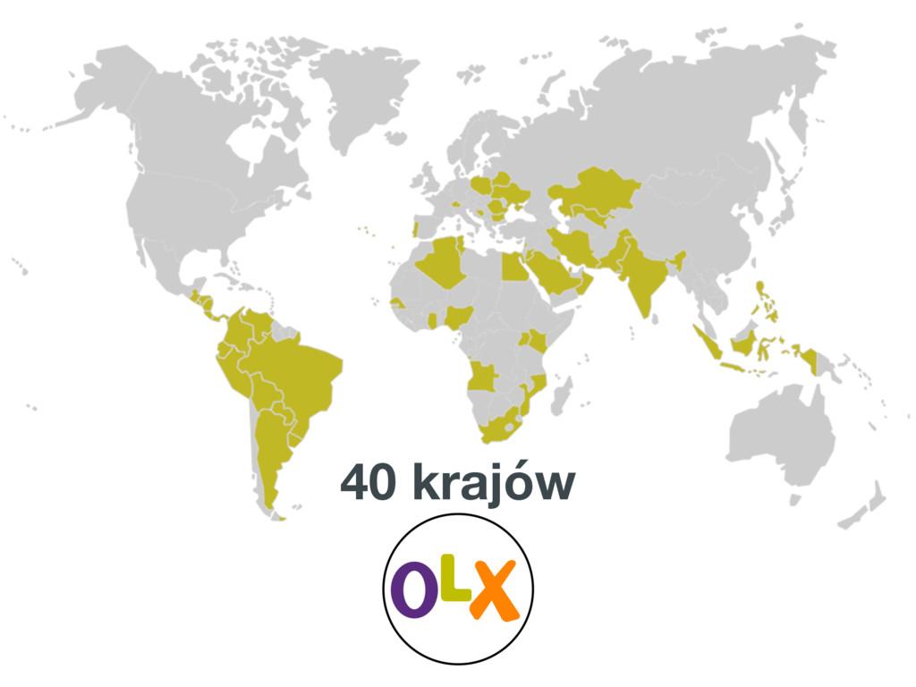 40 krajów