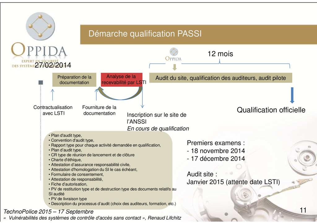 Démarche qualification PASSI Contractualisation...
