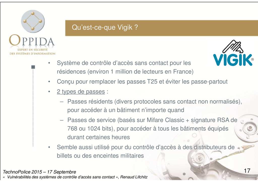 Qu'est-ce-que Vigik ? • Système de contrôle d'a...
