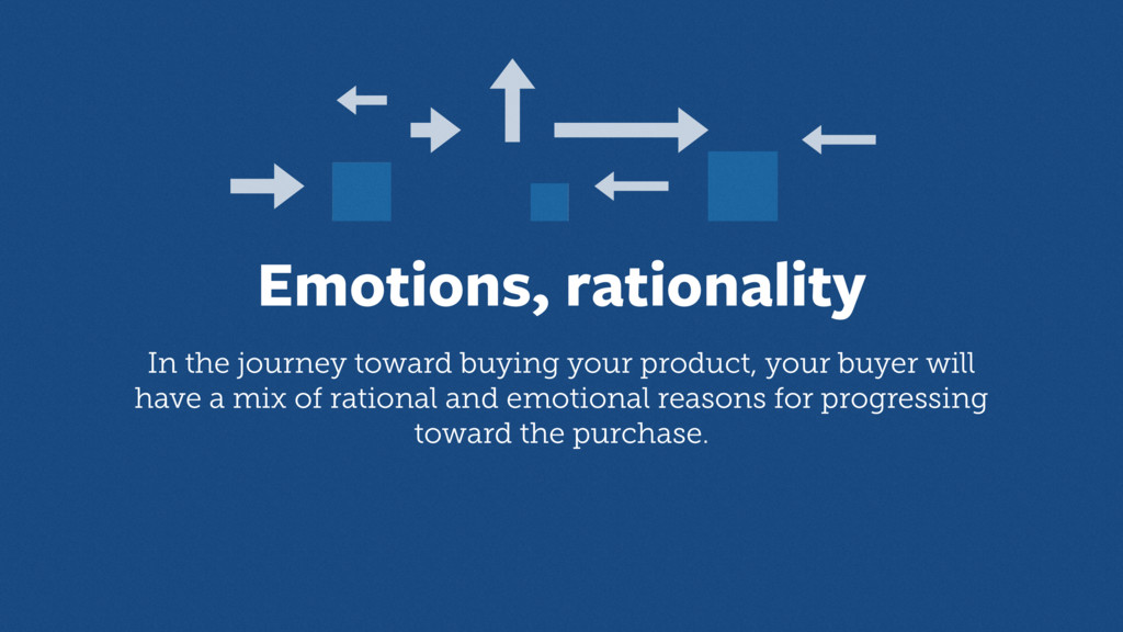 Emotions, rationality In the journey toward buy...