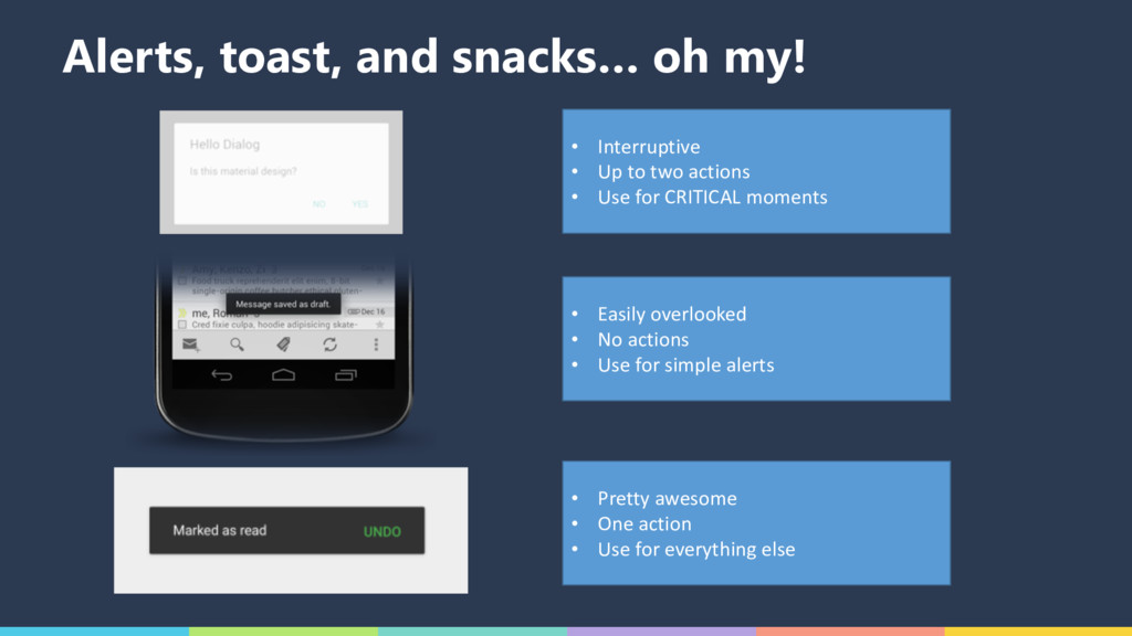 Alerts, toast, and snacks… oh my! • Interruptiv...