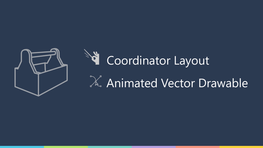 Coordinator Layout Animated Vector Drawable