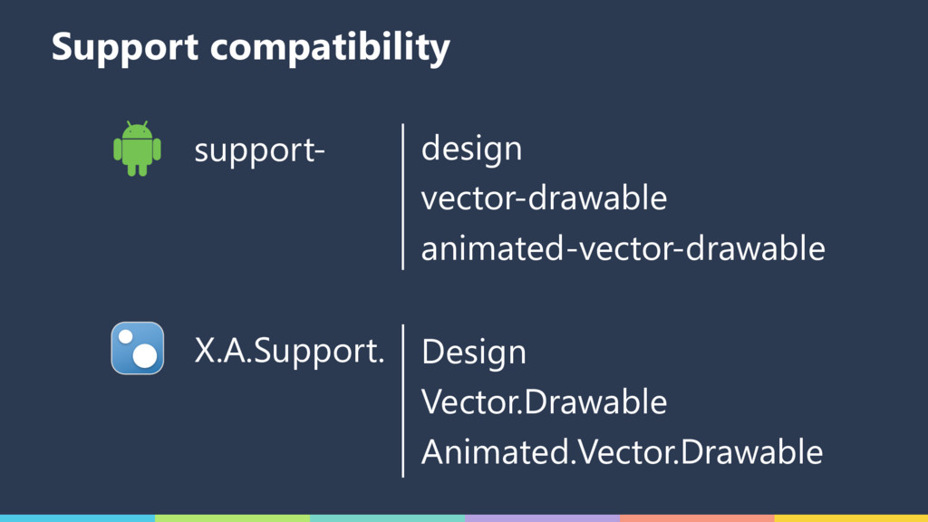 Support compatibility support- design vector-dr...