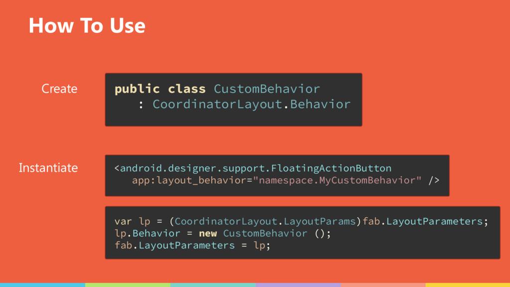How To Use Create Instantiate public class Cust...
