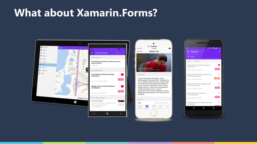 What about Xamarin.Forms?