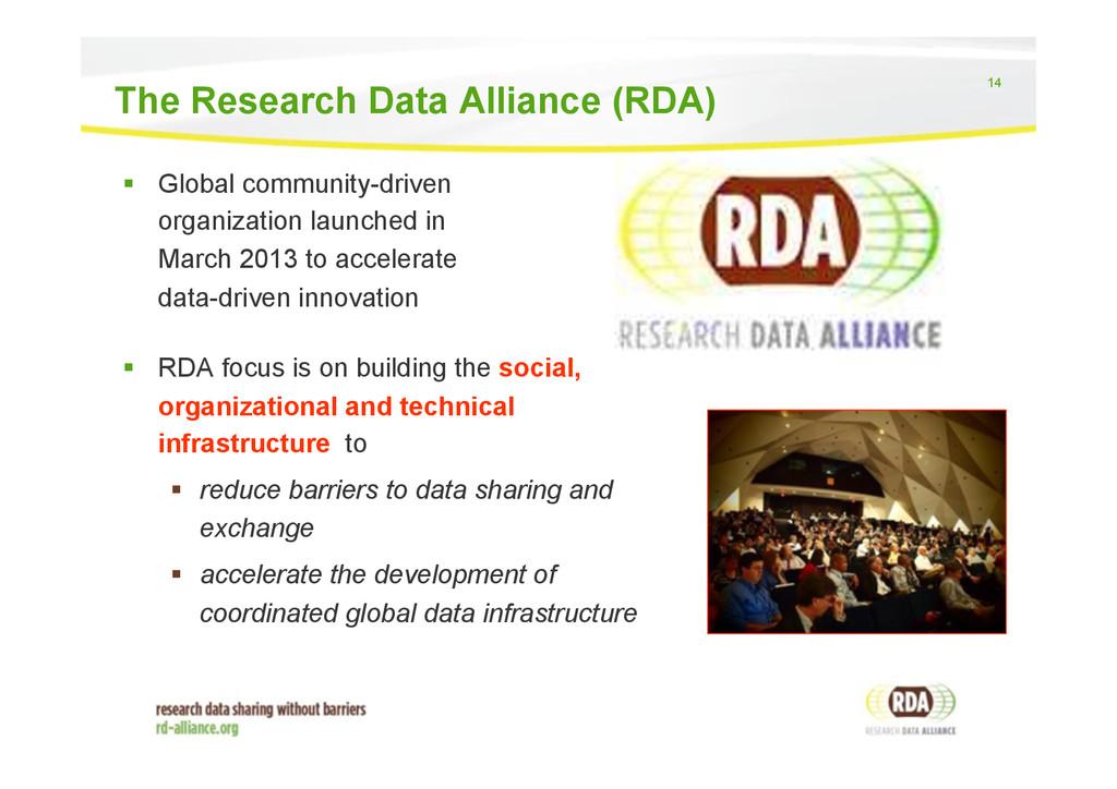 14 ! Global community-driven organization laun...