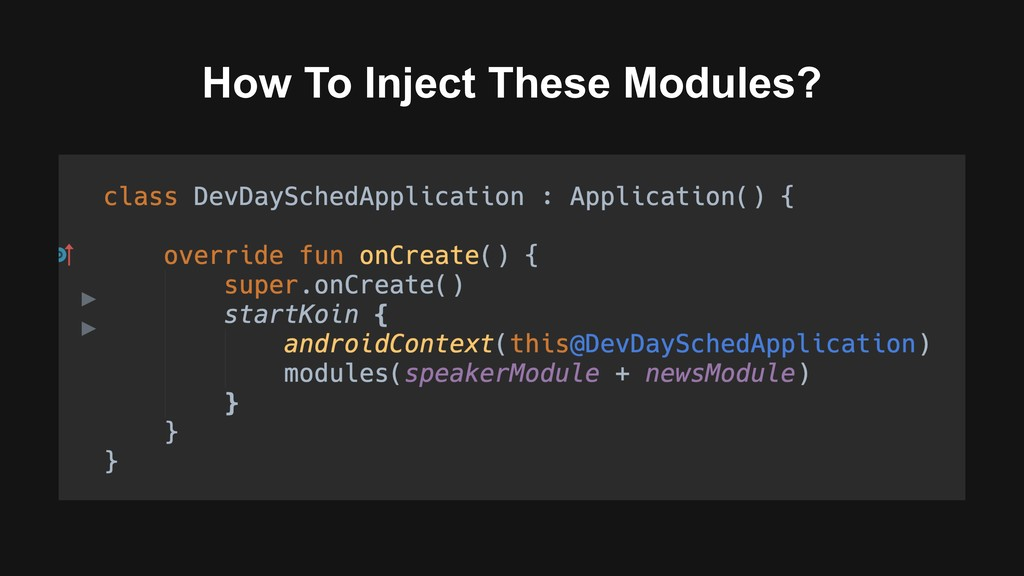 How To Inject These Modules?