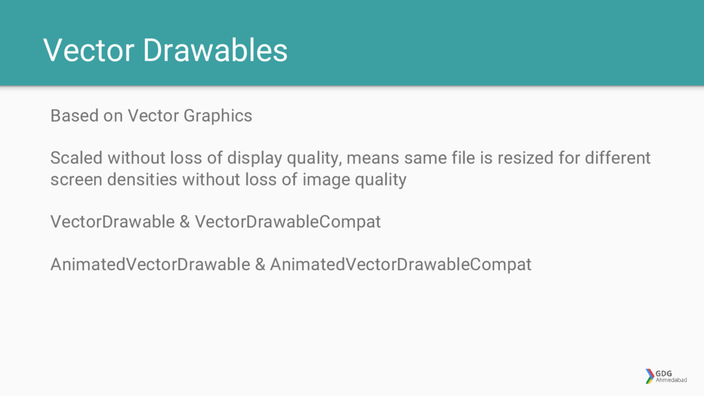 Vector Drawables Based on Vector Graphics Scale...