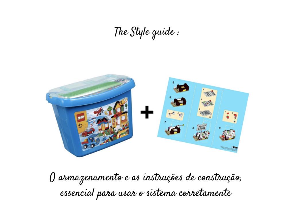The Style guide : O armazenamento e as instruçõ...