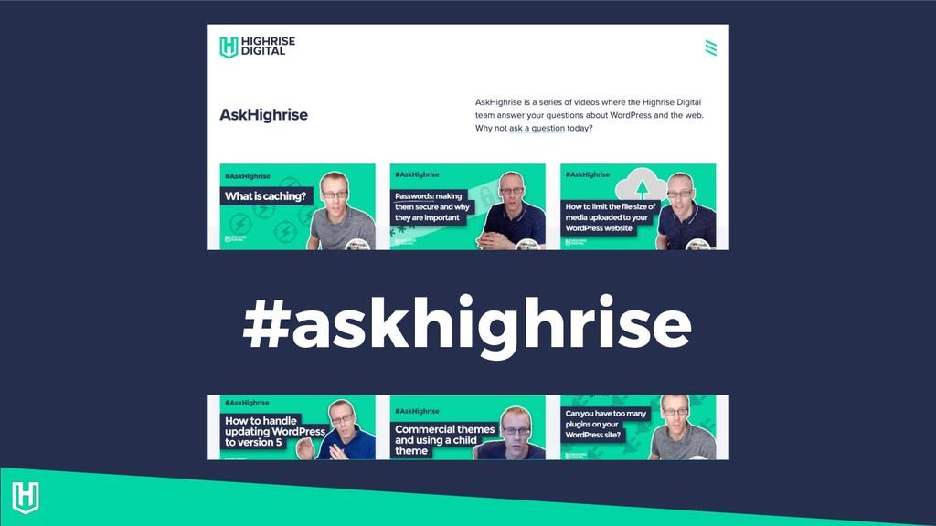 #askhighrise