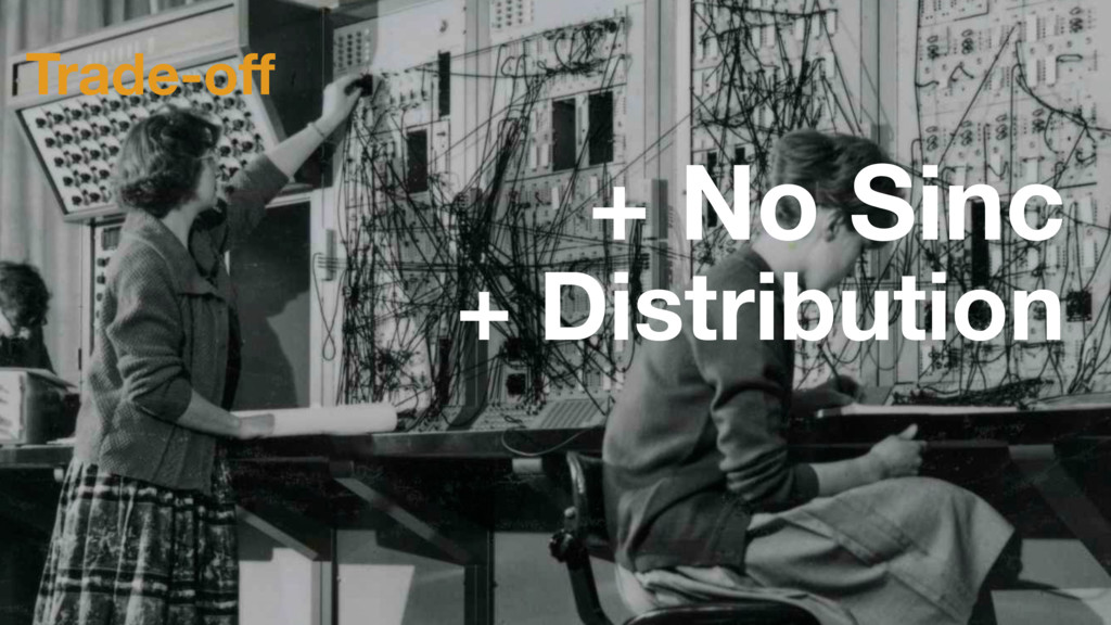 Trade-off + No Sinc + Distribution