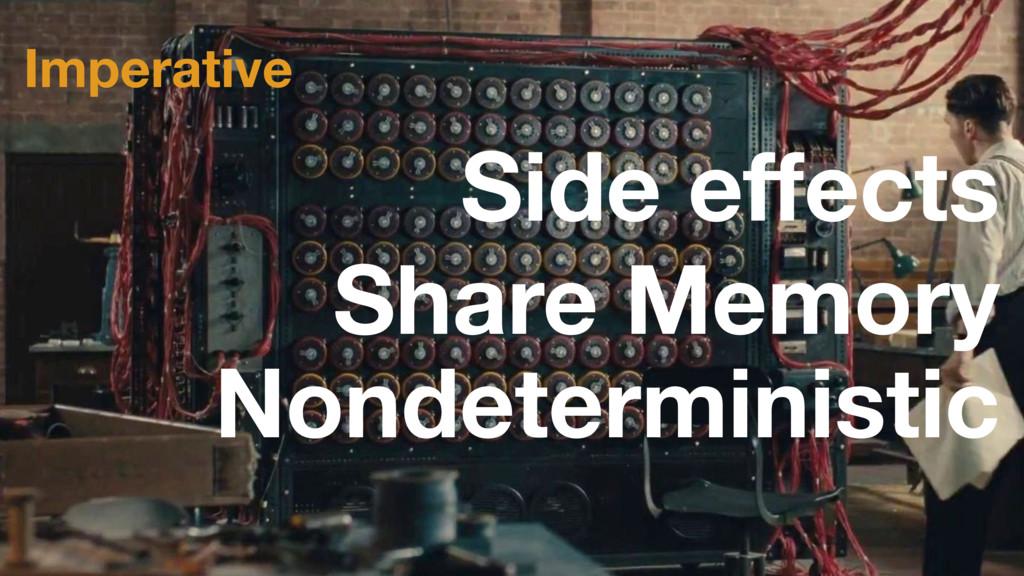 Imperative Share Memory Nondeterministic Side e...