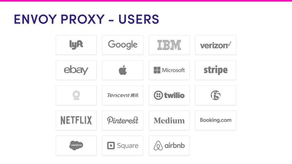 ENVOY PROXY - USERS