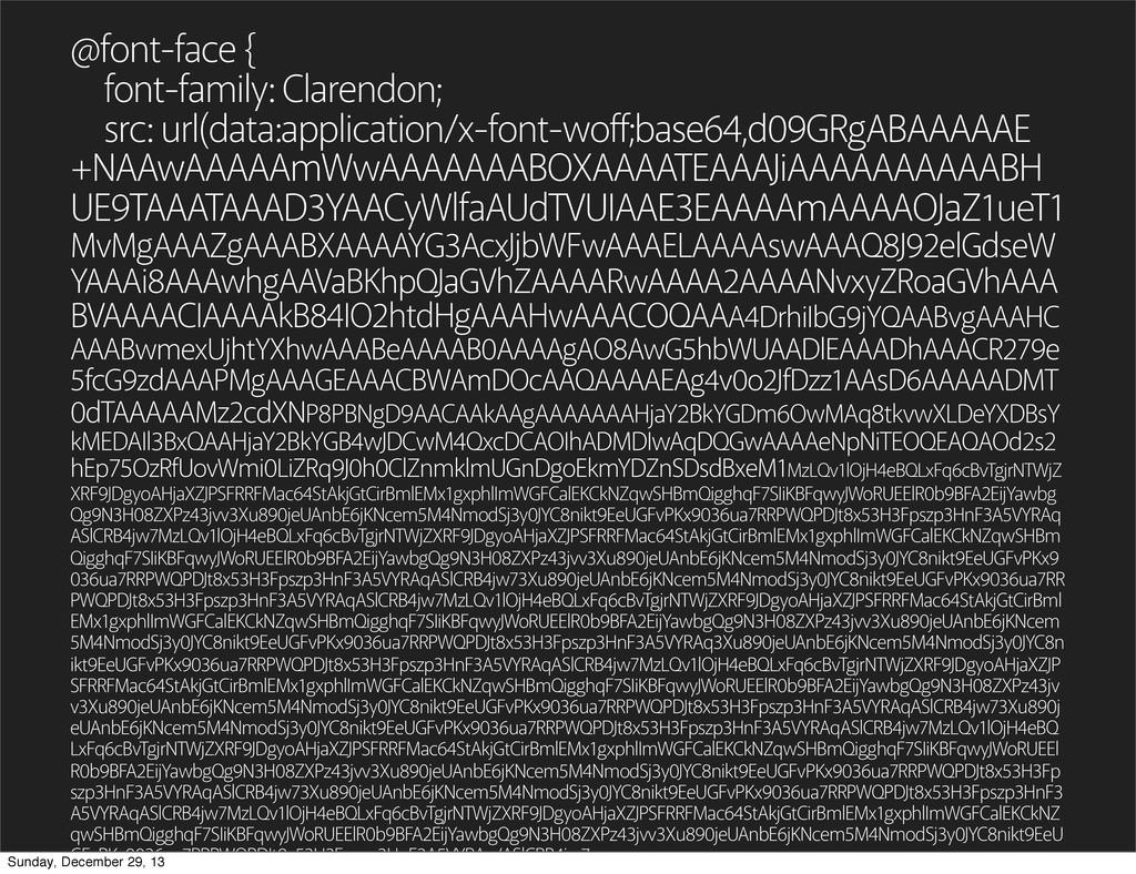 @font-face { font-family: Clarendon; src: url(d...
