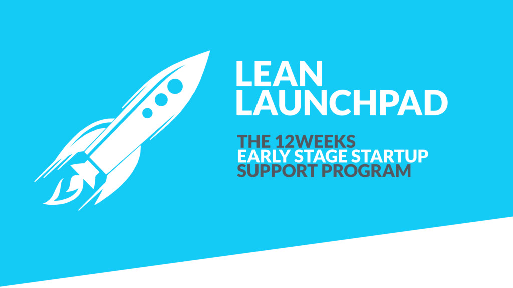 LEAN LAUNCHPAD THE 12WEEKS  EARLY STAGE STARTU...