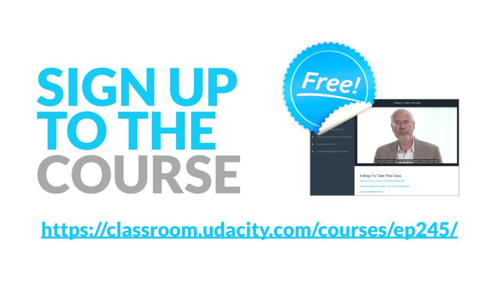 https://classroom.udacity.com/courses/ep245/ SI...