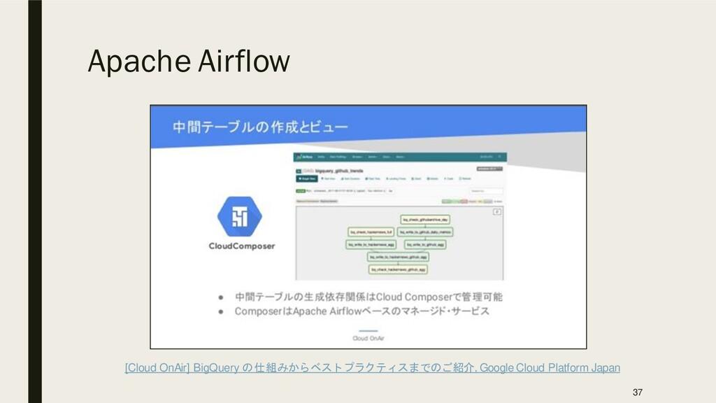 Apache Airflow [Cloud OnAir] BigQuery の仕組みからベスト...