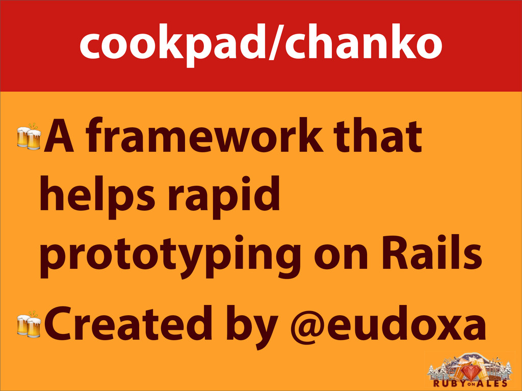 cookpad/chanko A framework that helps rapid pro...