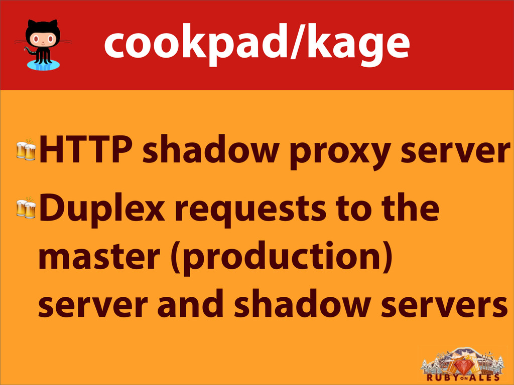 cookpad/kage HTTP shadow proxy server Duplex re...
