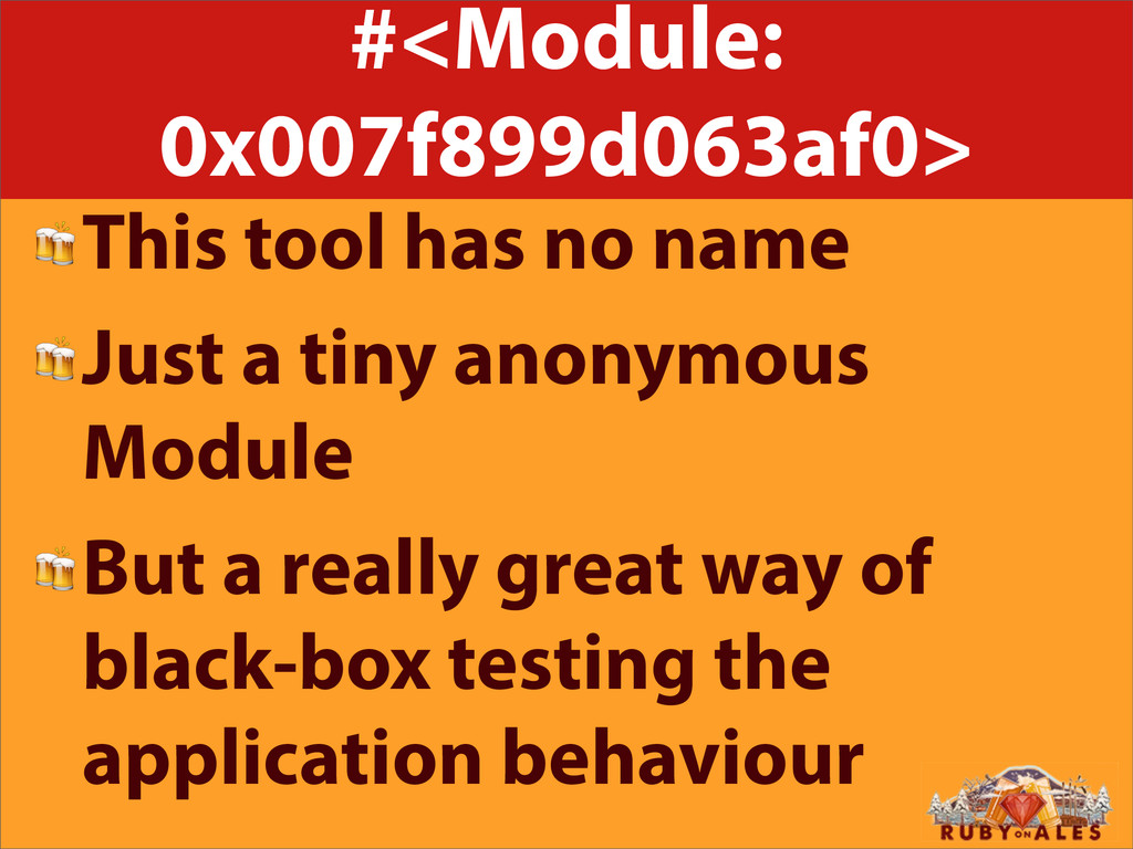 #<Module: 0x007f899d063af0> This tool has no na...