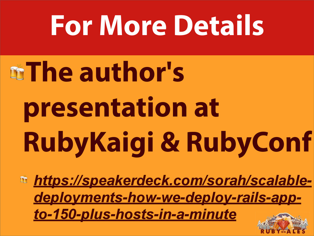 For More Details The author's presentation at R...