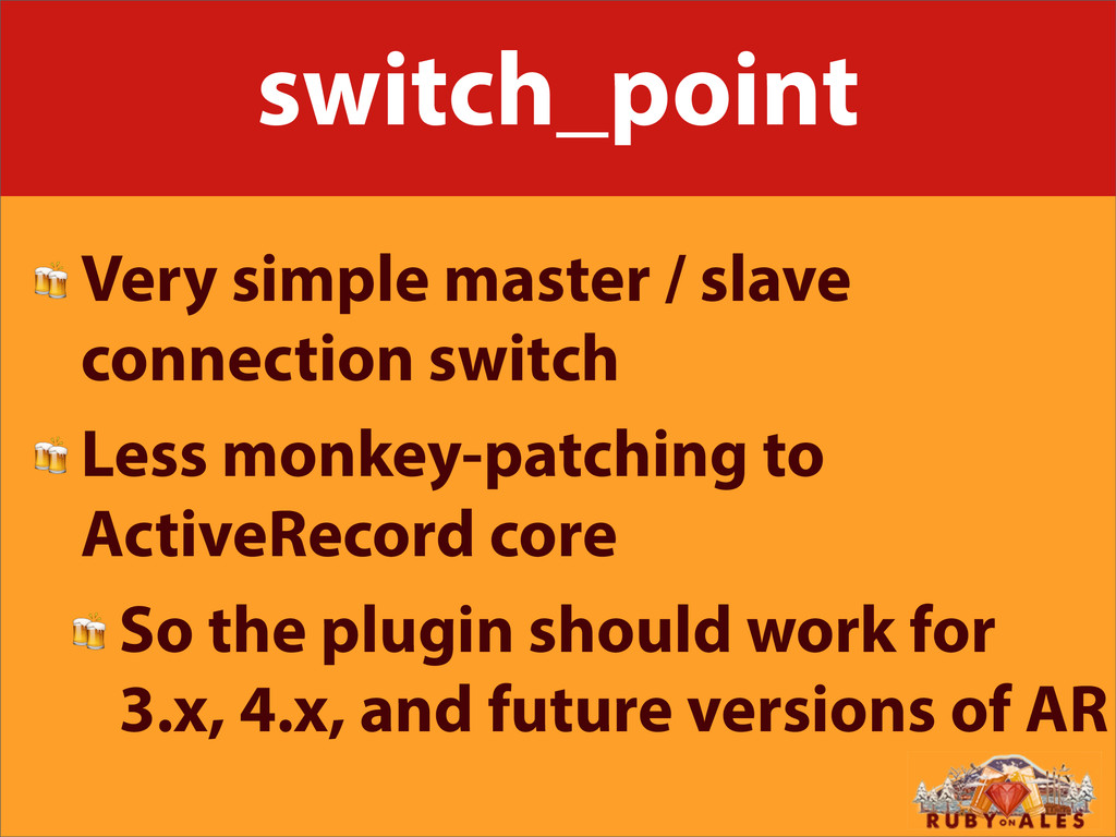 switch_point  Very simple master / slave connec...