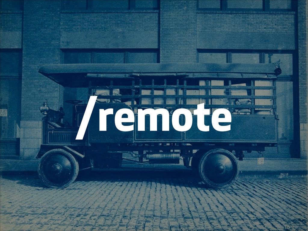 /remote