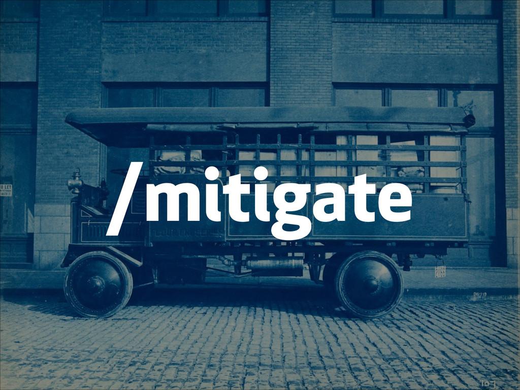 /mitigate