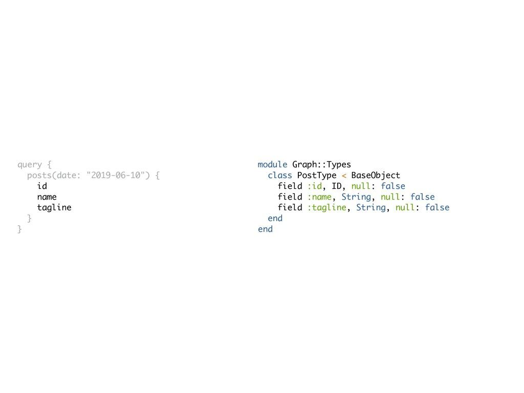 module Graph::Types class PostType < BaseObject...