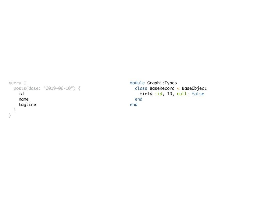 module Graph::Types class BaseRecord < BaseObje...