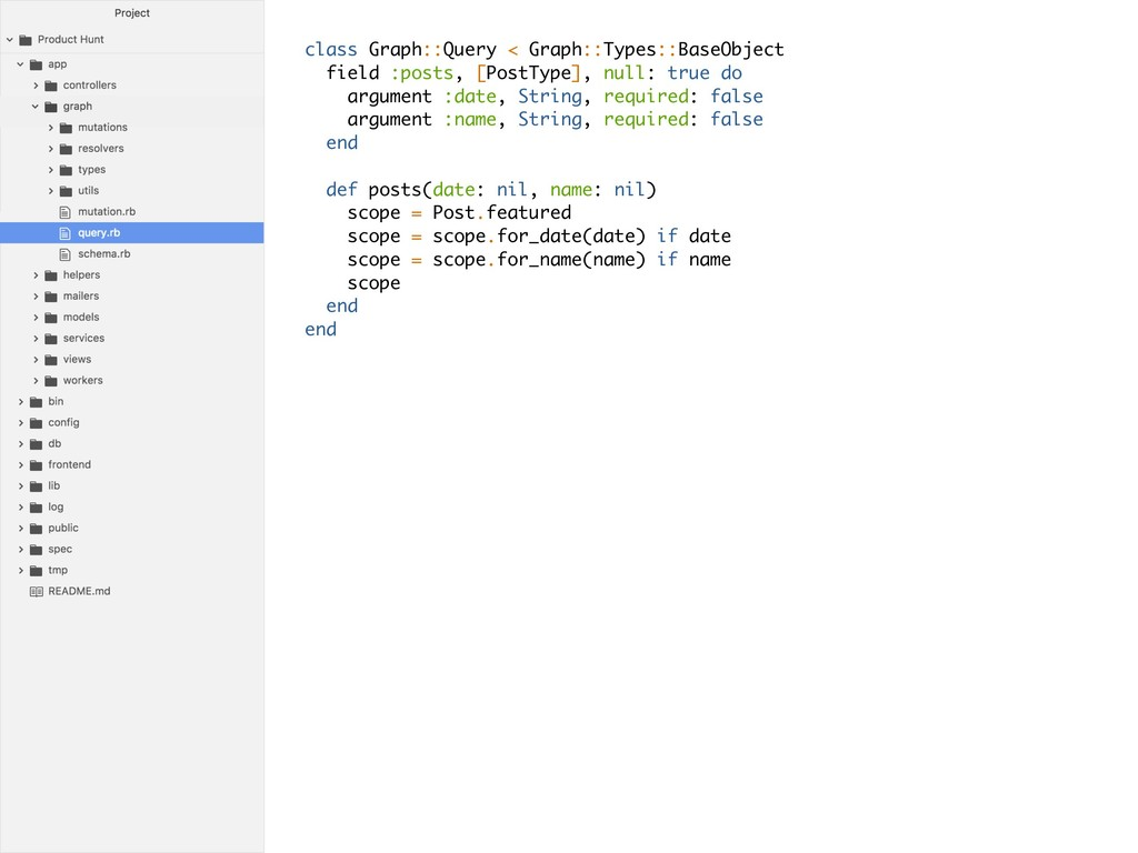 class Graph::Query < Graph::Types::BaseObject f...