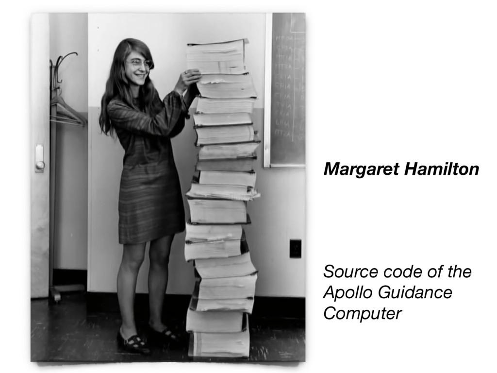 Margaret Hamilton Source code of the Apollo Gui...