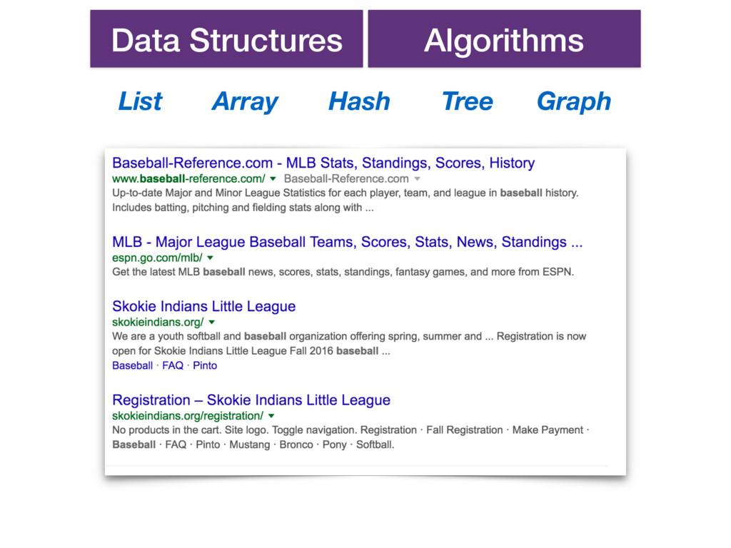 Data Structures Algorithms List Array Hash Tree...