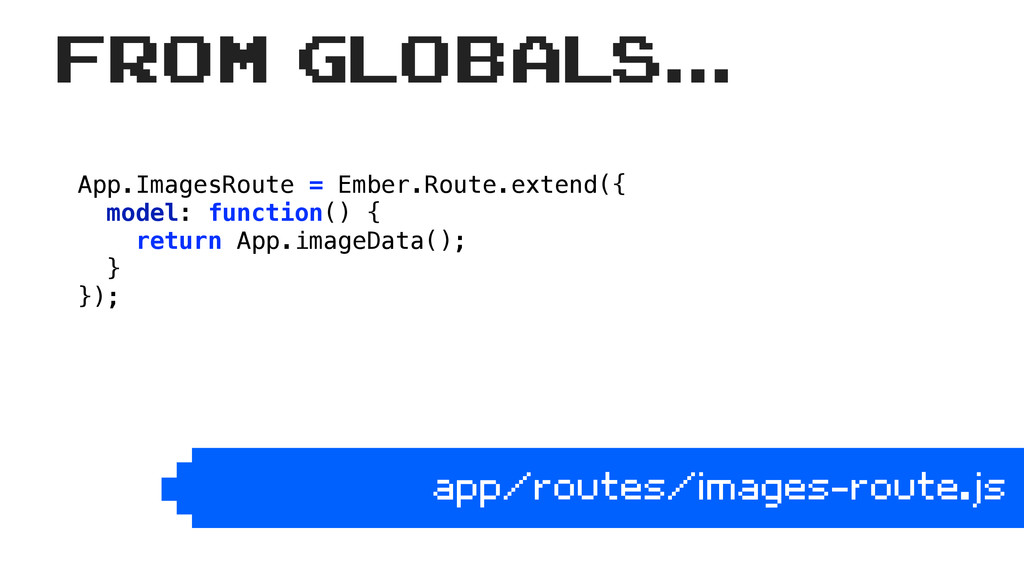 App.ImagesRoute = Ember.Route.extend({