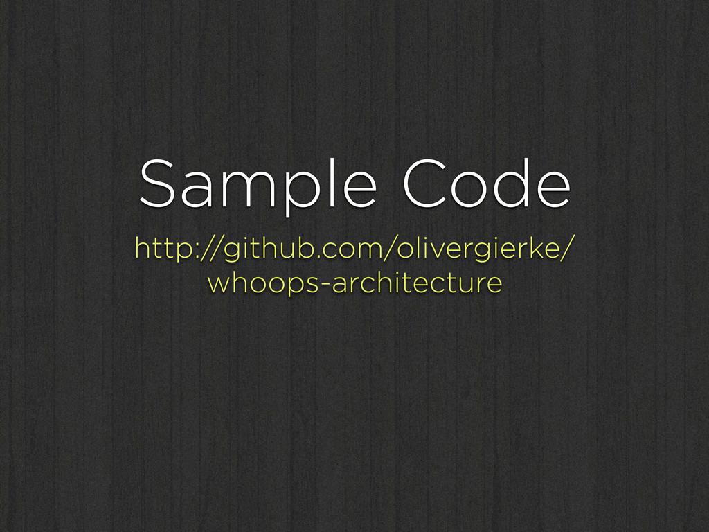 Sample Code http://github.com/olivergierke/ who...