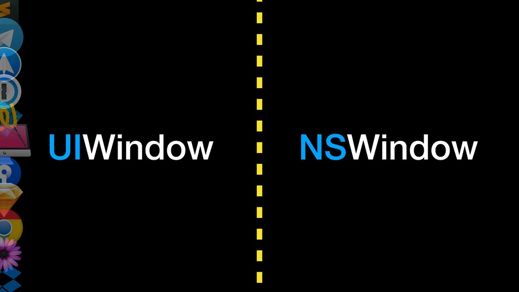 UIWindow NSWindow